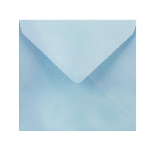 155 x 155 Pearlescent Blue Gummed Diamond Flap Greeting Envelopes [Qty 1,000] (2131124125785)