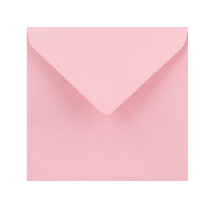 155 x 155 Soft Pink Gummed Diamond Flap Greeting Envelopes [Qty 1,000] (2131162431577)