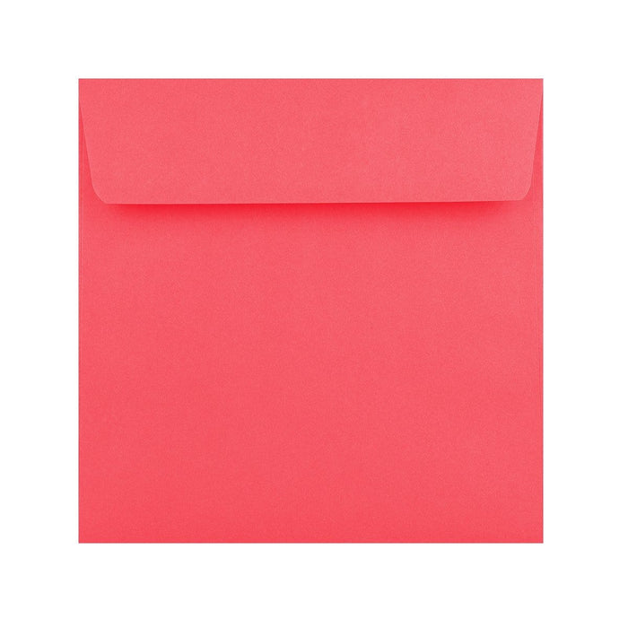 155 x 155 Bright Pink 120gsm Peel & Seal Envelopes [Qty 500]