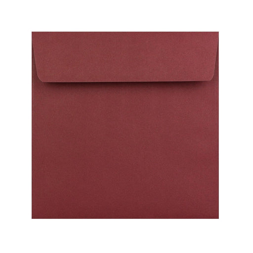 155 x 155 Burgundy 120gsm Peel & Seal Envelopes [Qty 500] (2131418120281)