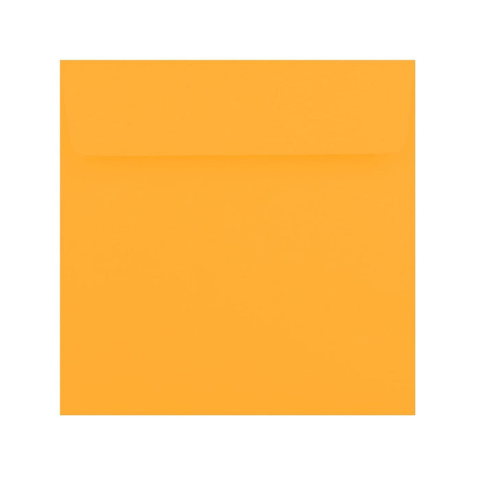 155 x 155 Golden Yellow 120gsm Peel & Seal Envelopes [Qty 500] (2131419562073)
