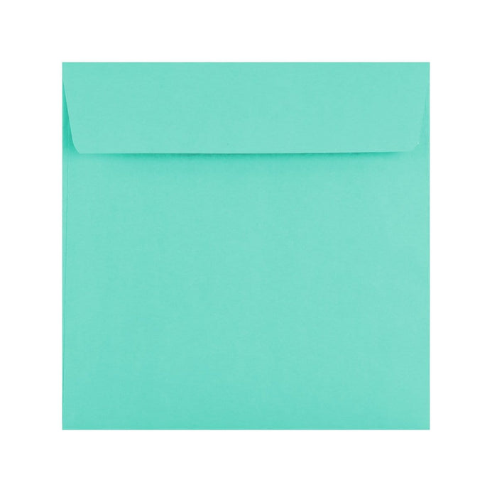 155 x 155 Duck Egg Blue 120gsm Peel & Seal Envelopes [Qty 500] (2131419791449)