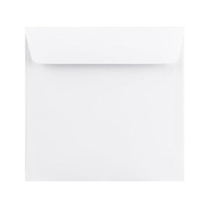 155 x 155 White Premium Ultra 120gsm Envelopes [Qty 500] (2131398426713)