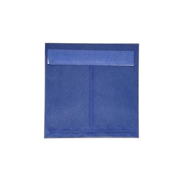 Translucent Square  Deep Blue160 x 160 peel & seal envelopes (2131265159257)