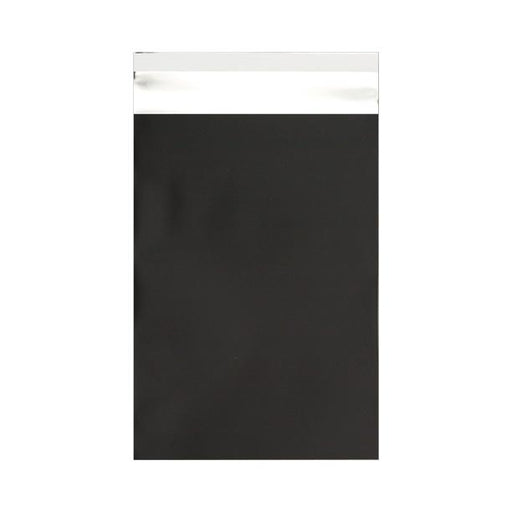 C6 Matt Black Foil Postal Envelopes / Bags [Qty 250] 114 x 162mm