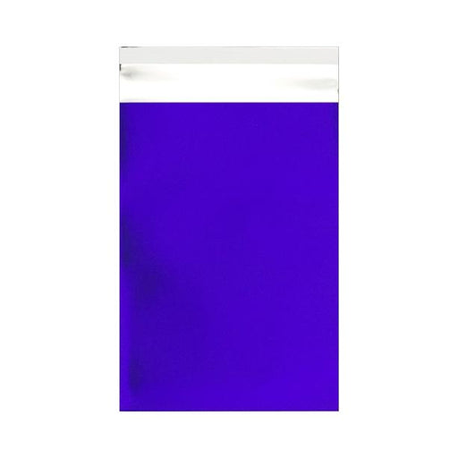C6 Matt Dark Blue Foil Postal Envelopes / Bags [Qty 250] 114 x 162mm