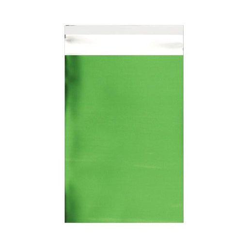 C6 Matt Green Foil Postal Envelopes / Bags [Qty 250] 114 x 162mm