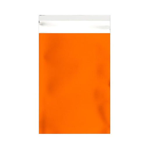 C6 Matt Orange Foil Postal Envelopes / Bags [Qty 250] 114 x 162mm