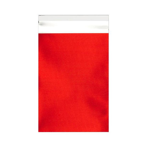 C6 Matt Red Foil Postal Envelopes / Bags [Qty 250] 114 x 162mm (2131303399513)