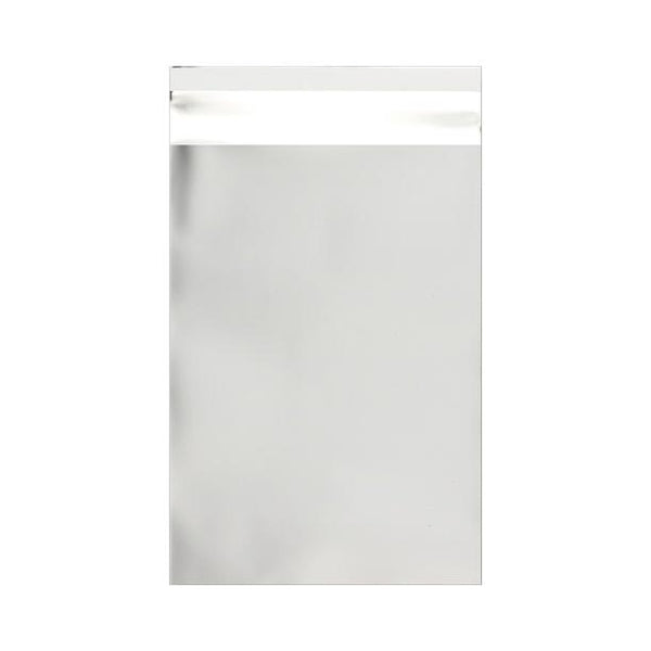 C6 Matt Silver Foil Postal Envelopes / Bags [Qty 250] 114 x 162mm (2131303596121)