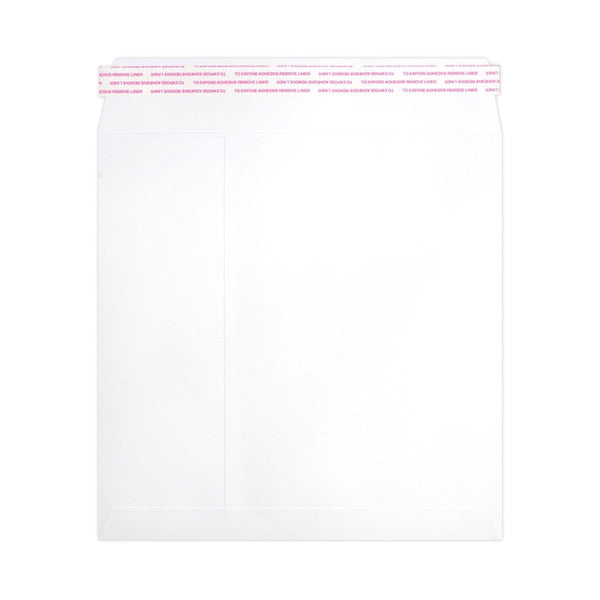 190 x 190 White Luxury 180gsm Peel & Seal Envelopes [Qty 250] (2131063963737)