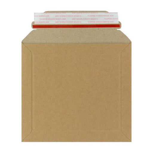 Rigid Cardboard Envelopes 164 x 180mm [Qty 100] (2153321791577)