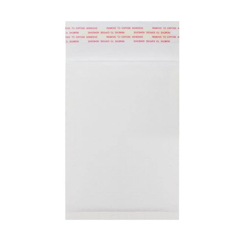165 x 100mm White 160gsm Recyclable Corrugated Bags [Qty 200]