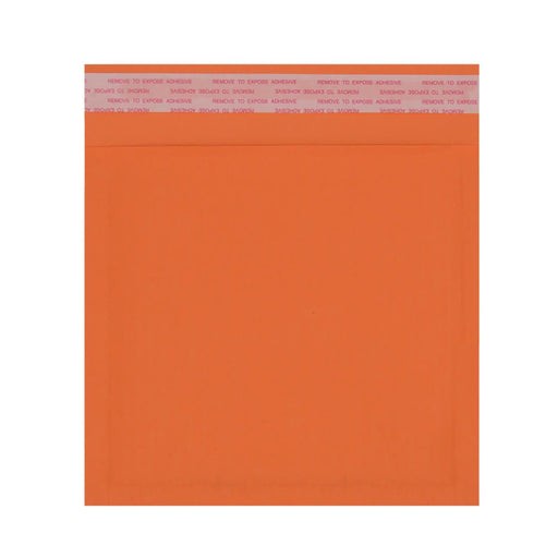 165 x 165mm Orange 180gsm Recyclable Corrugated Bags [Qty 200]