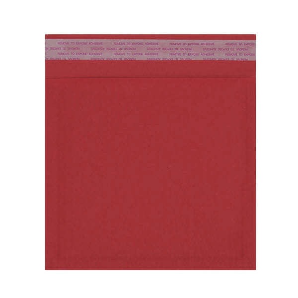 165 x 165mm Red 180gsm Recyclable Corrugated Bags [Qty 200]