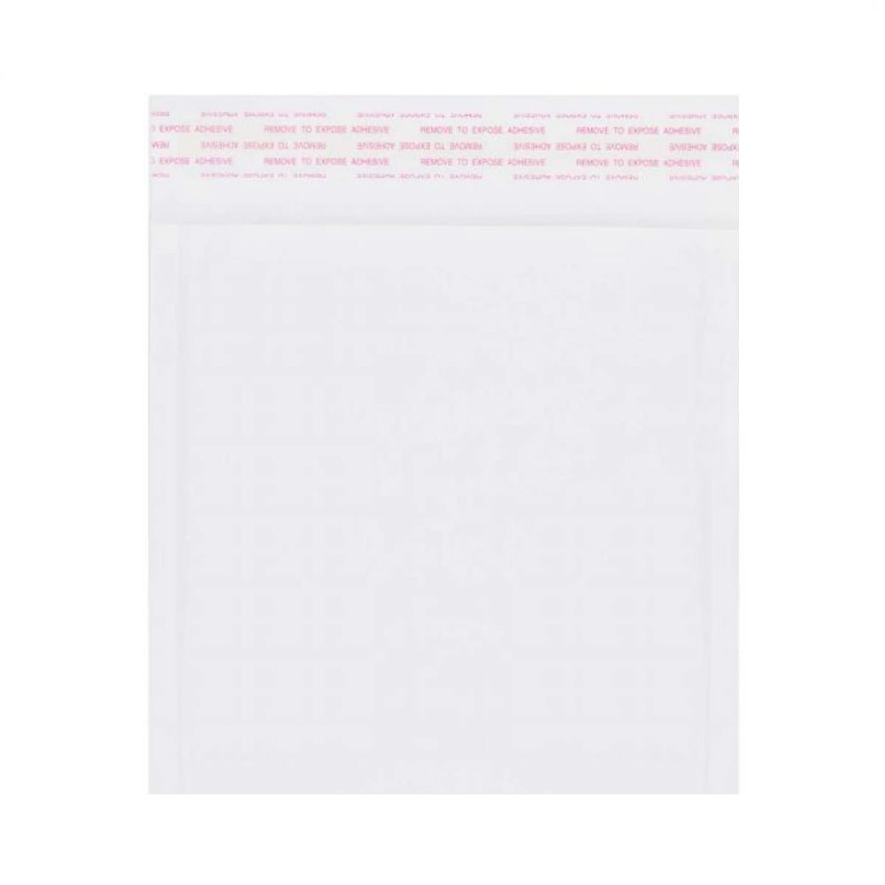165 x 165mm White 160gsm Corrugated Padded Envelopes [Qty 200] (4440978227289)