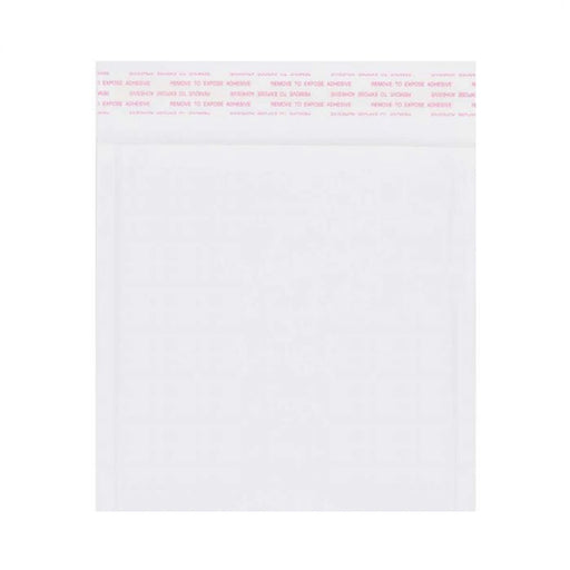 165 x 165mm White 160gsm Corrugated Padded Envelopes [Qty 200]