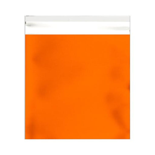 165 x 165 Matt Orange Foil Postal Bags [Qty 250] (2131309723737)