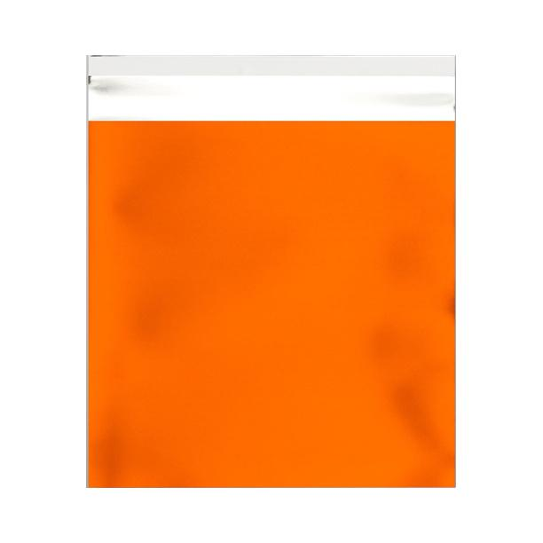 165 x 165 Matt Orange Foil Postal Bags [Qty 250]