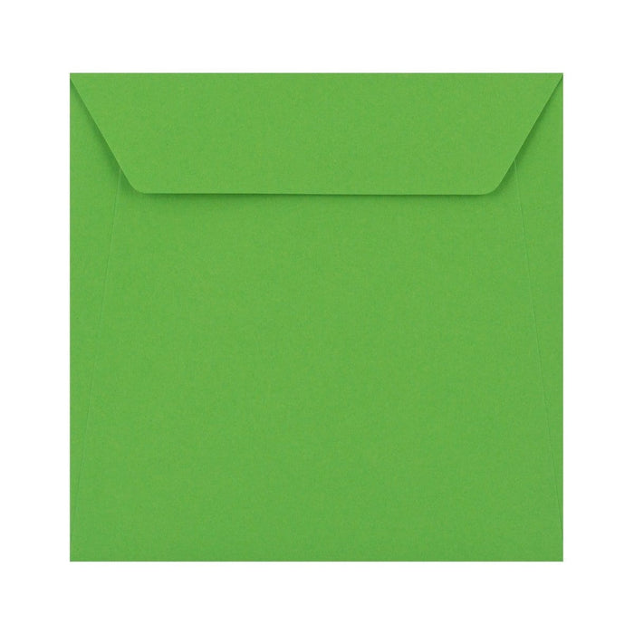 170 x 170 Bright Green 100gsm Peel & Seal Envelopes [Qty 500] (2131403767897)