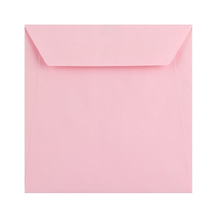 170 x 170 Pastel Pink 100gsm Peel & Seal Envelopes [Qty 500] (2131404849241)