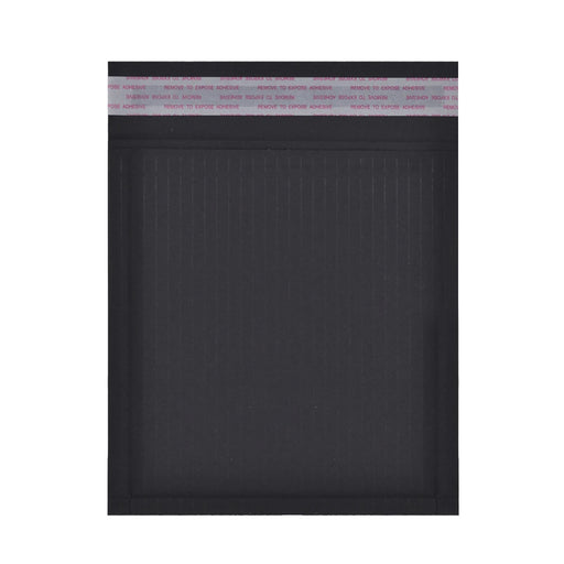 180 x 165mm Black 180gsm Recyclable Corrugated Bags [Qty 200]