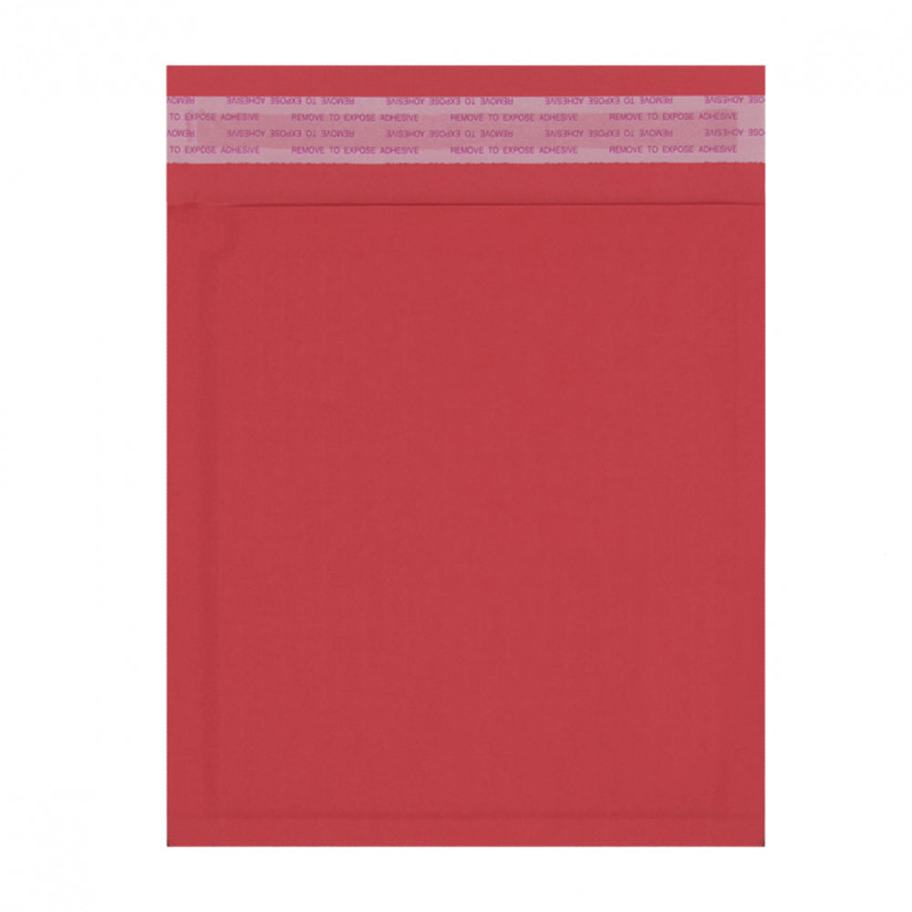 180 x 165mm Red 180gsm Recyclable Corrugated Bags [Qty 200] (4441188106329)