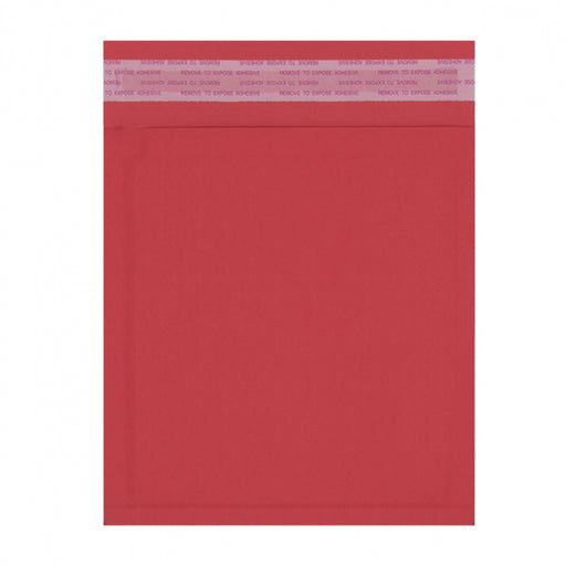 180 x 165mm Red 180gsm Recyclable Corrugated Bags [Qty 200]
