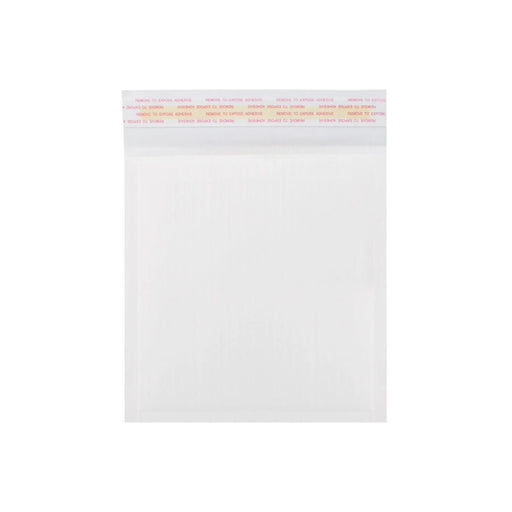 180 x 165mm White 160gsm Corrugated Padded Envelopes [Qty 200]