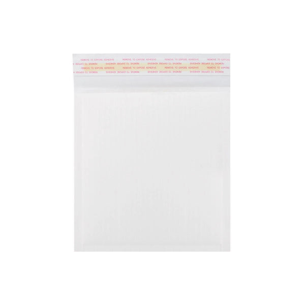180 x 165mm White 160gsm Corrugated Padded Envelopes [Qty 200] (4440987467865)