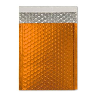 C5+ Matt Orange Padded Bubble Envelopes [Qty 100] 180mm x 250mm
