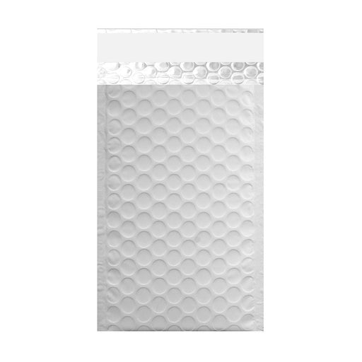 100 x 185 Matt White Padded Bubble Envelopes [Qty 100]