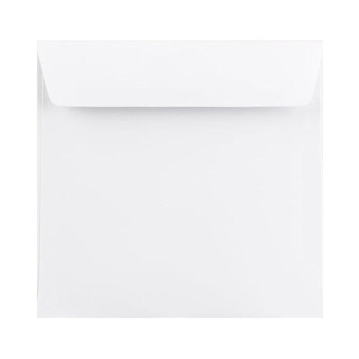 185 x 185 White Premium Ultra 120gsm Envelopes [Qty 500] (2131399344217)