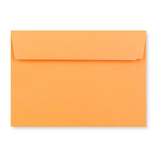 C6 Sherbert Orange 120gsm Peel & Seal Envelopes [Qty 250] 114 x 162mm