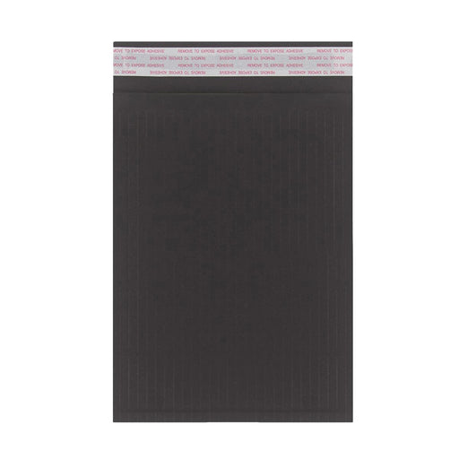 215 x 150mm Black 180gsm Recyclable Corrugated Bags [Qty 100]