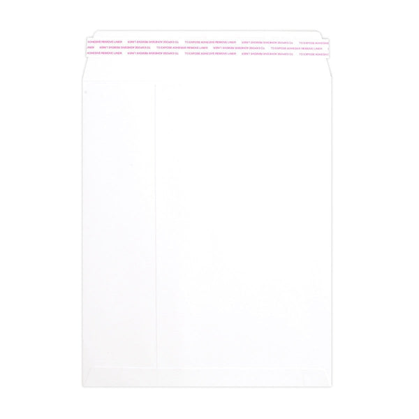 216 x 270 White Luxury 180gsm Peel & Seal Pocket Envelopes [Qty 200] (2131061211225)
