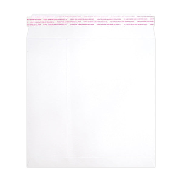 240 x 240 White Luxury 180gsm Peel & Seal Envelopes [Qty 250] (2131064160345)