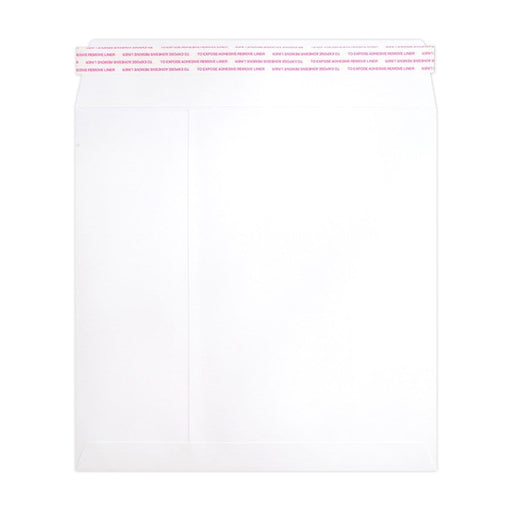 220 x 220 White Luxury 180gsm Peel & Seal Envelopes [Qty 250]