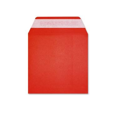 220 x 220 Dark Red Square 225gsm Peel & Seal Envelopes [Qty 250] (2131055509593)