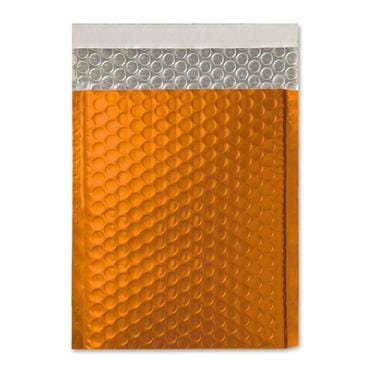 C4 Matt Orange Padded Bubble Envelopes [Qty 100]  230mm x 324mm