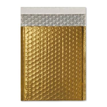 C5+ Matt Gold Padded Bubble Envelopes [Qty 100] 180mm x 250mm