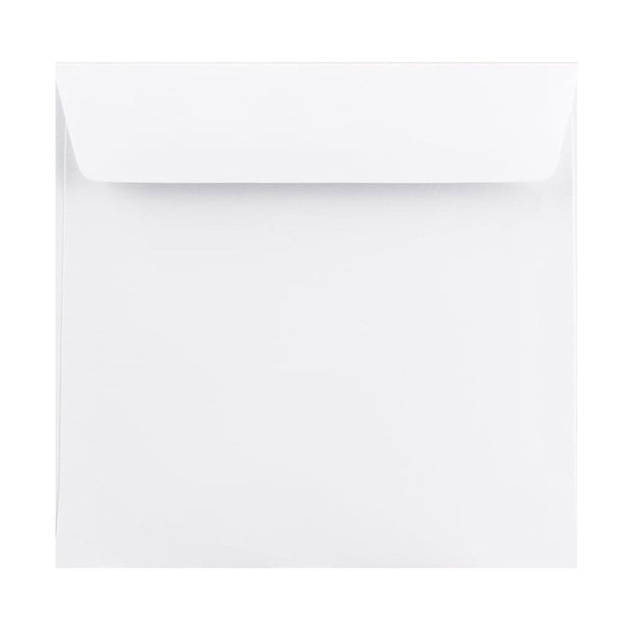 220 x 220 White Premium Ultra 120gsm Peel & Seal Envelopes [Qty 250] (2131330662489)