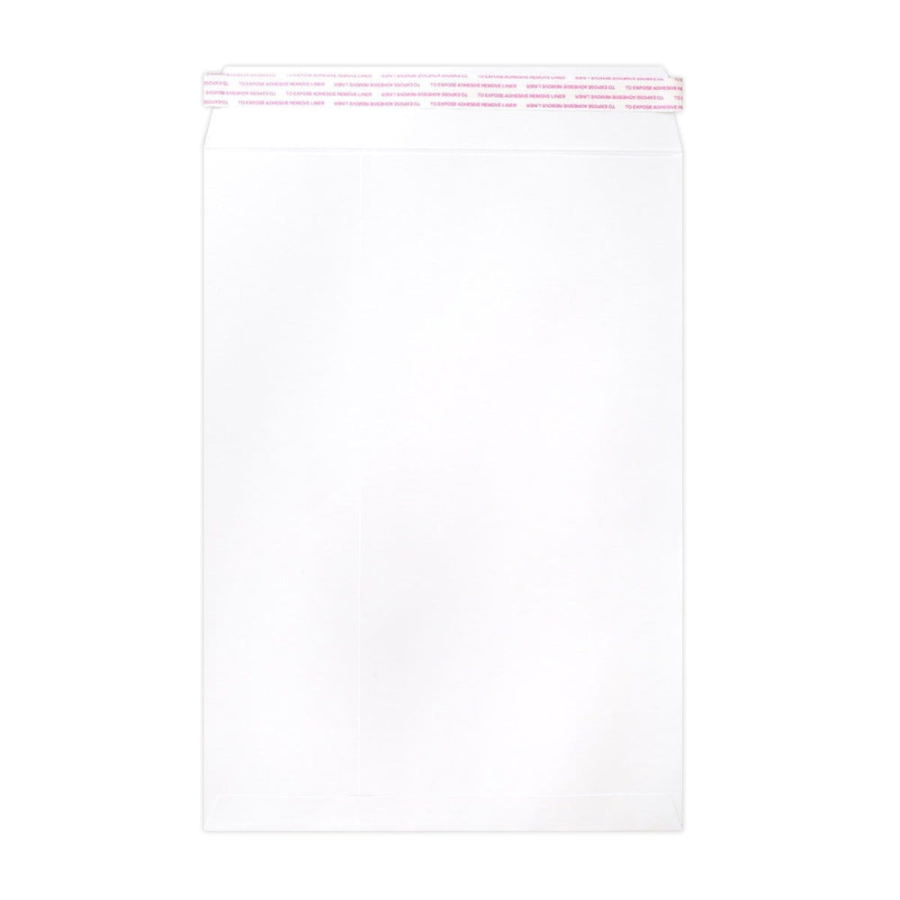 249 x 352 White Luxury Pocket 180gsm Peel & Seal Envelopes [Qty 200] (2131062259801)