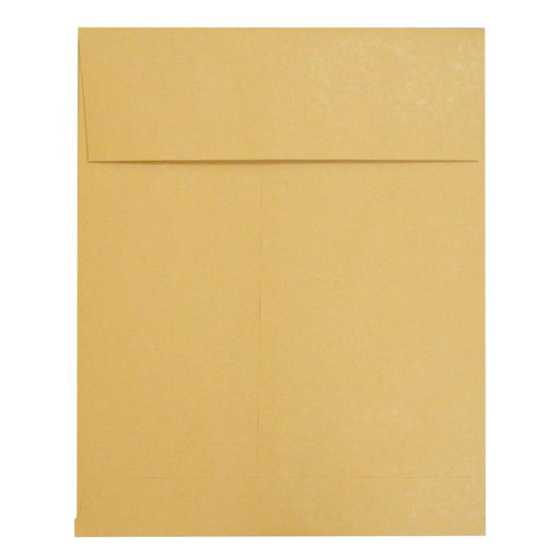 250 x 305 x 25 Manilla Gusset Pocket 140gsm Peel & Seal Envelopes [Qty 125] (2131118784601)
