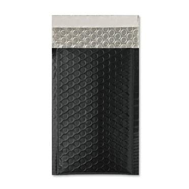 140 x 250 Matt Black Padded Bubble Envelopes [Qty 100] (2131381420121)