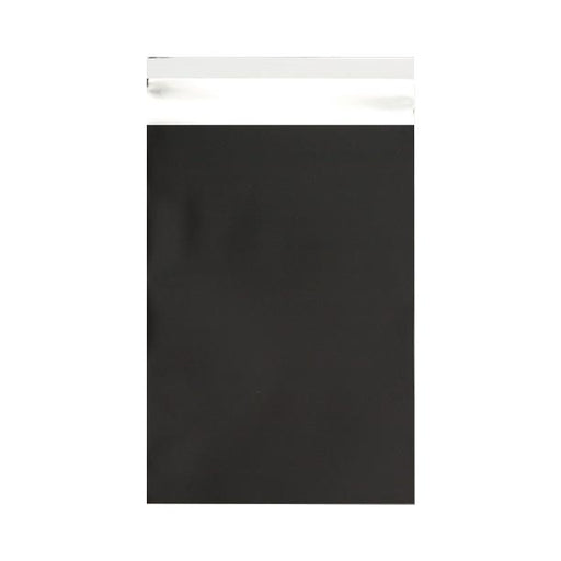 C5+ Matt Black Metallic Foil Envelopes / Bags [Qty 250] 180 x 250mm (2131310805081)