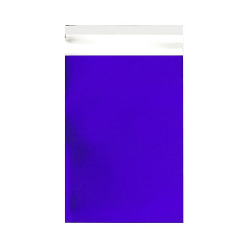 C5+ Matt Dark Blue Metallic Foil Envelopes / Bags [Qty 250] 180 x 250mm
