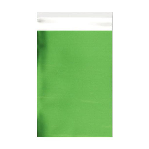 C5+ Matt Green Metallic Foil Envelopes / Bags [Qty 250] 180 x 250mm