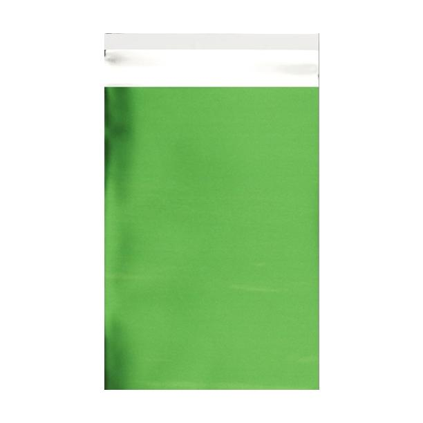 C5+ Matt Green Metallic Foil Envelopes / Bags [Qty 250] 180 x 250mm (2131325190233)