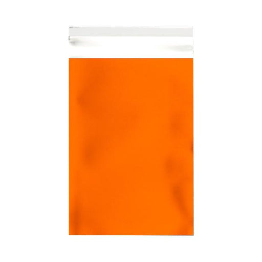 C5+ Matt Orange Metallic Foil Envelopes / Bags [Qty 250] 180 x 250mm
